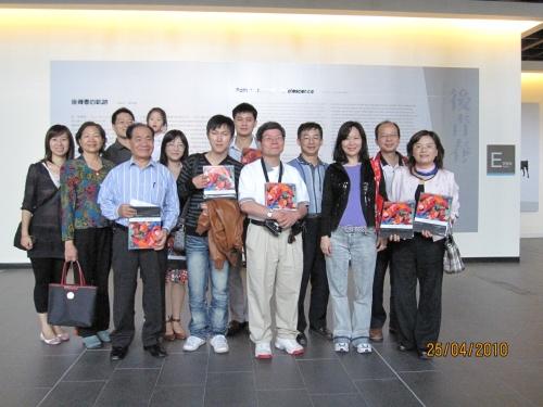 【2010.04.25】台中市校友會國美館知性之旅