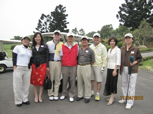 【2010.04.17】第一屆總會長盃高爾夫球聯誼賽