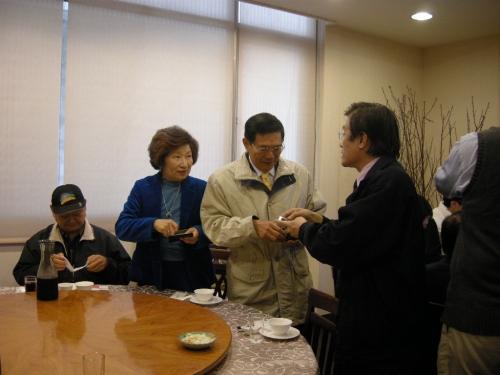 【2009.12.19】新竹市校友會聯誼餐會活動