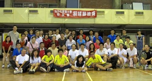 【2009.06.27】台中市校友會羽球