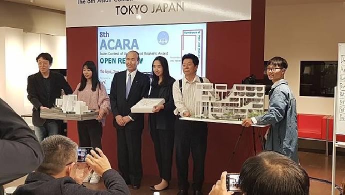 :東海大學建築系吳昰賢同學  日本決賽12國脫穎榮獲「亞洲建築新人戰」銀獎, 與首奬僅一票之差