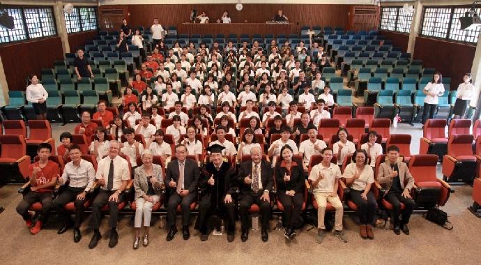 東海大學第十二屆博雅書院始業式