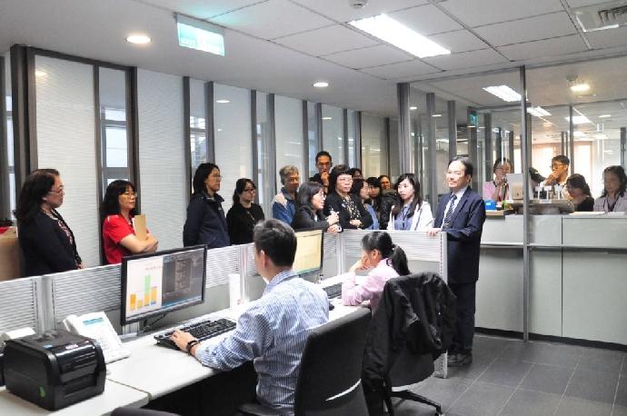 東海大學精實行動5S團隊代表 台灣引興參訪學習之旅