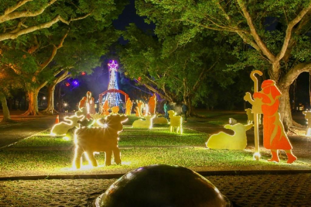 東海大學聖誕節「2019 愛你已久」系列活動 點燈開跑