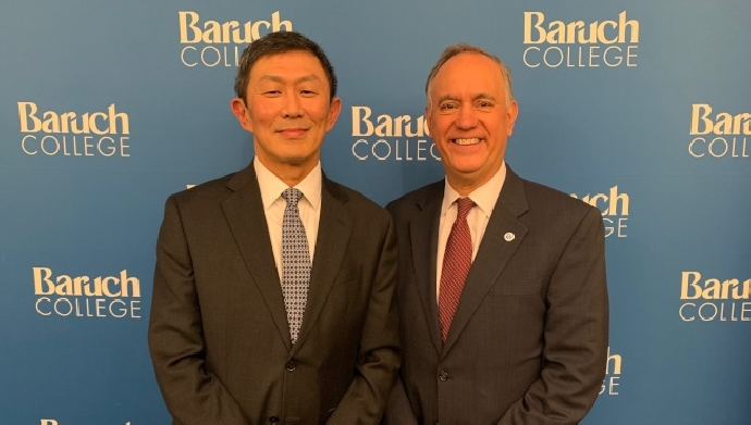 恭賀東海大學吳思永校友榮獲紐約市大勃魯克學院新任華裔校長
