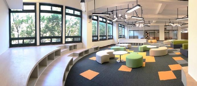 圖書館知識分享空間啟用囉!