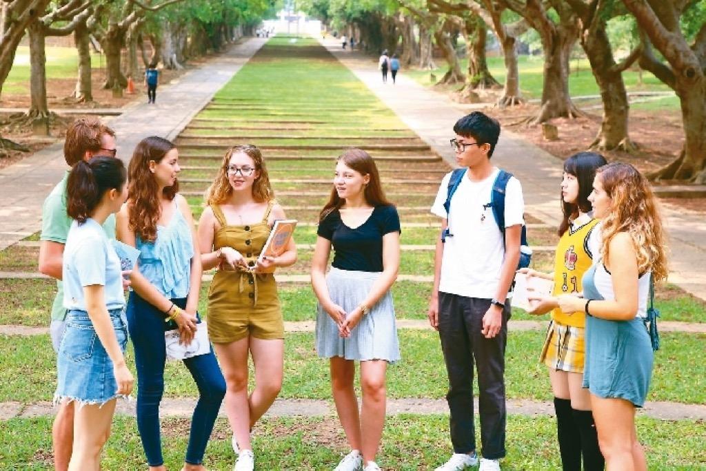 東海大學 國際化教育名列前茅